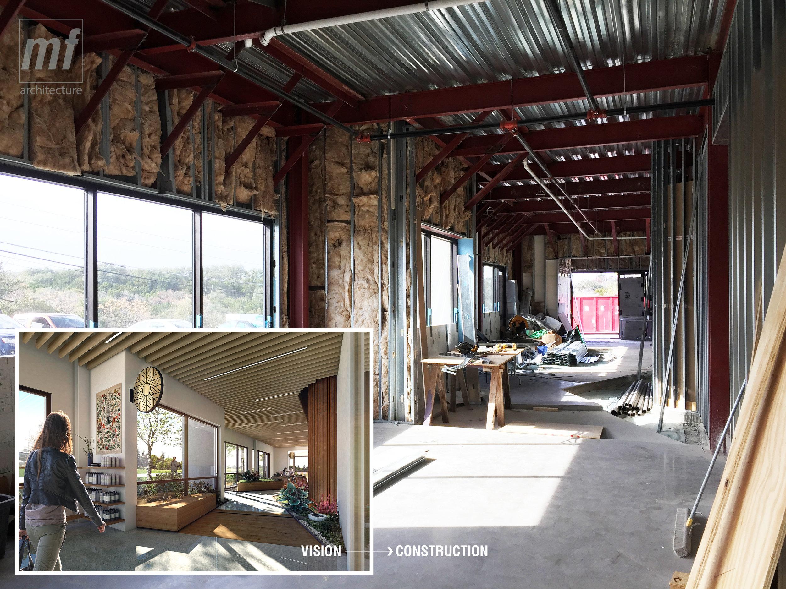 Alive + Well Wellness Center by Matt Fajkus Architecture_Render to  Construction.jpg