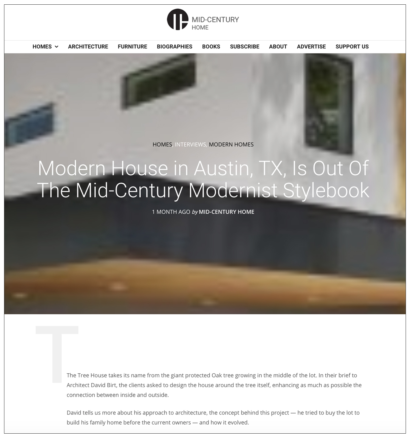 PRESS - Mid-Century Home 05/2018 — Matt Fajkus Architecture