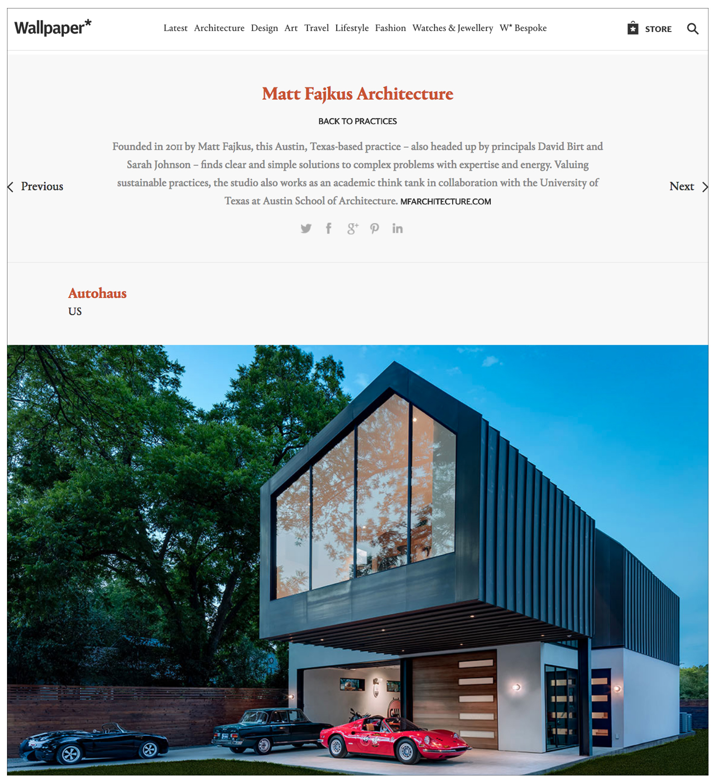 Press Wallpaper 06 2018 Matt Fajkus Architecture Sustainable Residential And Commercial Architects In Austin Tx