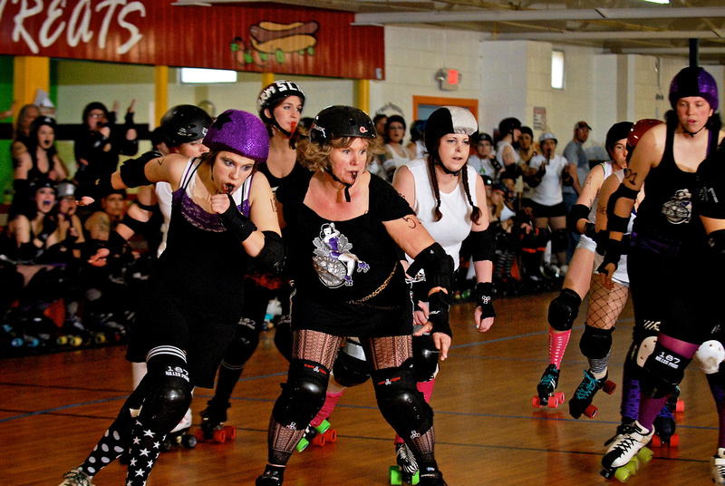 Slamlet jams in A2D2's first Friends & Family scrimmage, May 2011. /  Andrew Potter