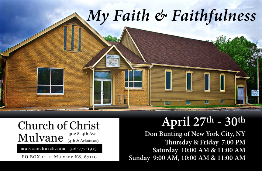 2017 Gospel meeting with don bunting
