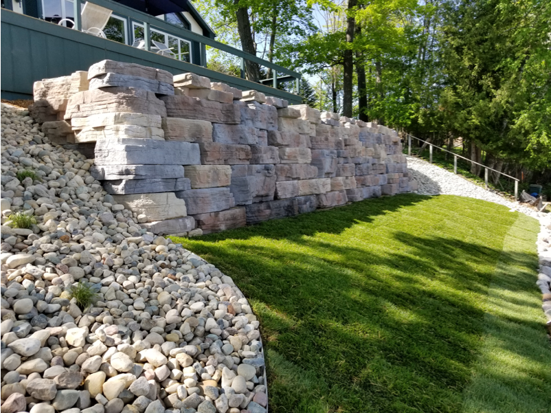 Landscaping - – Custom Fire Pits– Patio Construction– Paver Installation– Retaining Wall Construction– Site Preparation– Sod Installation– Walkway Construction– Landscape Grading & Resloping– Shrubs, Hedges & BushesGet a Quote >
