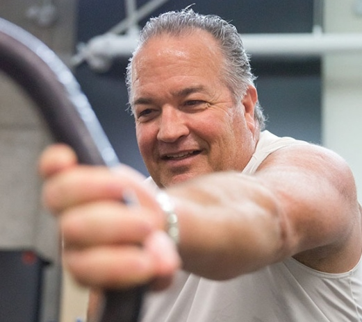 Charles Reid is focusing on exercise and healthy eating while undergoing active surveillance for his prostate cancer.