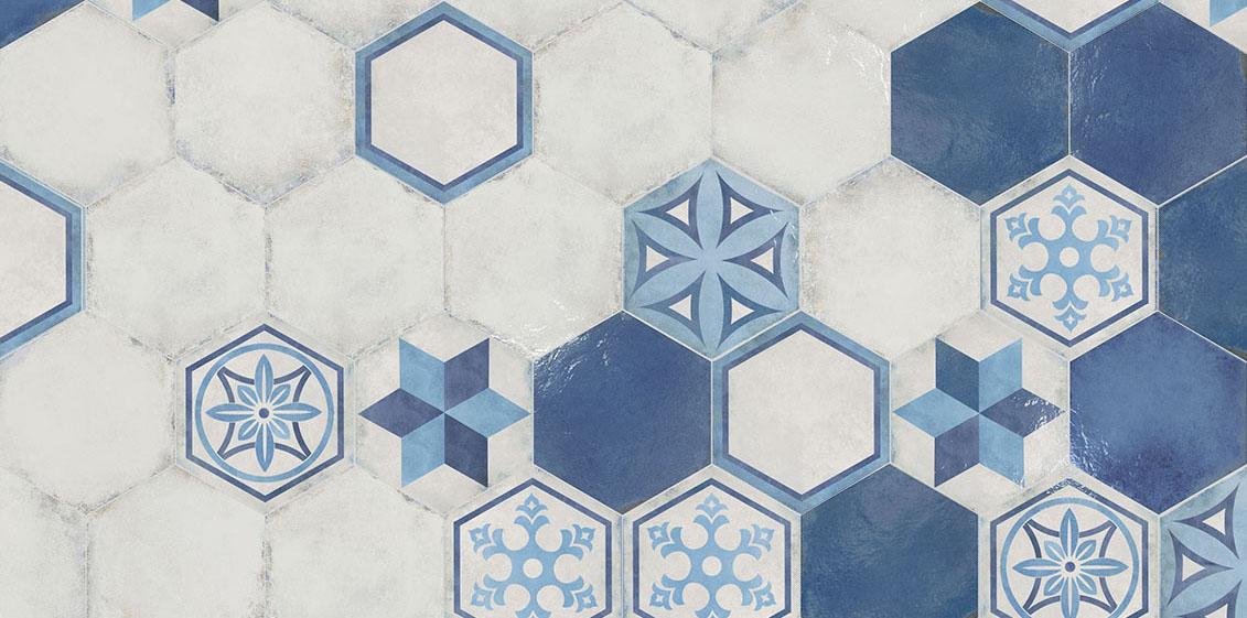 """Vietri, hexagone 13"""", à partir de $7.89 / pi.ca."""