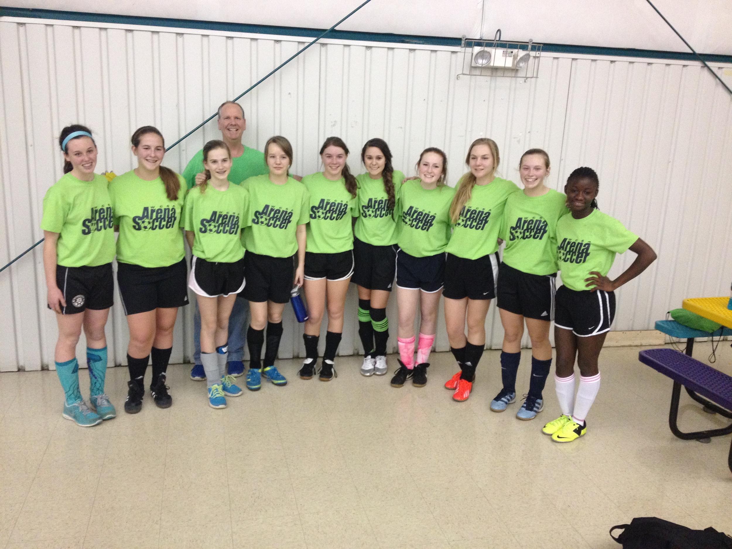 My incredible Indoor Soccer team