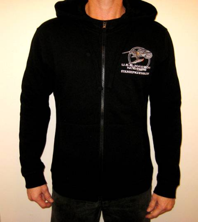 Top quality, fitted hoodies available in most sizes and fully embroidered with our fantastic ship logo!