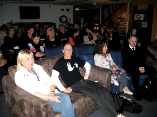 June 28 - Our latest meet-up for Mawson's Movie Buffs, with a fun Frenchy film event at The Alliance Française French Cultural Centre, and what a great night we all had!