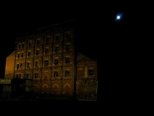 October 18 Scary Ghost Tour meet-up and plenty of chills up the back of your neck as we were taken to some of Port Adelaide's most haunted areas including this old Mill where ghosts have been reportedly spotted! (All images taken by club member - Ilona Solinska)