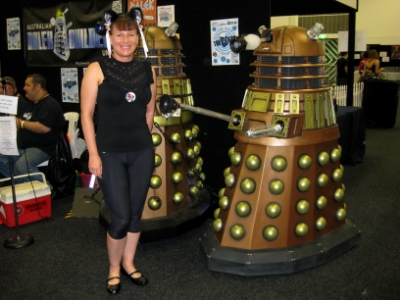 Day 2 - Supanova and there are Daleks everywhere!