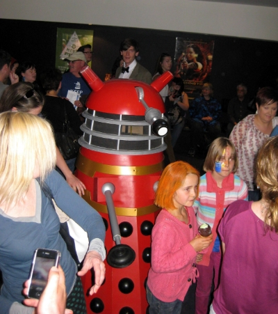 Nov 24 - Our 50th Anniversary Dr Who event at The Palace East End Cinema was a complete sellout with both sessions and plenty of great costumes in the costume competitions!