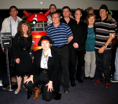November 24 - A gathering of some of our members at our 50th anniversary Dr Who event.