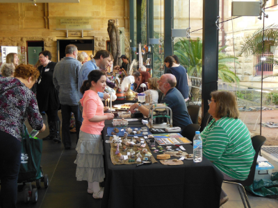 A large visiting attendance for The Collectors Show at The South Australian Museum in Adelaide on April 13 and we were most fortunate to have been invited to set up an exhibition of retro pop culture memorabilia from the 1930's to 1970's!