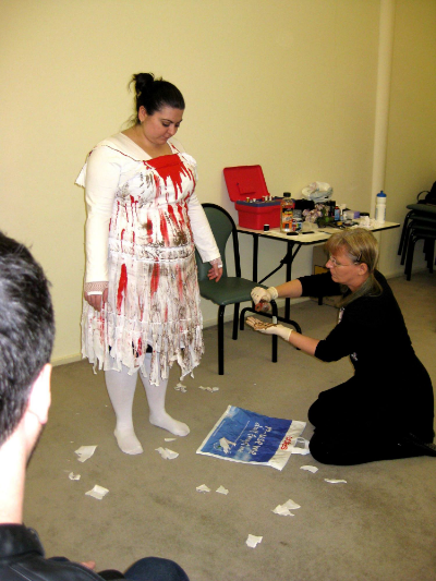 August 8 to 10 and plenty of excitement at our National Club Convention with members and guests enjoying three days of fantastic activities and workshops including our Zombie Walk makeup workshops featuring costuming and make-up artist - Ilona - Transforming Club member - Eve!