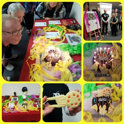 June 18 and what a fantastic 10th Birthday celebration we had and we look ahead to many more years as Australia's premiere SF Organisation!