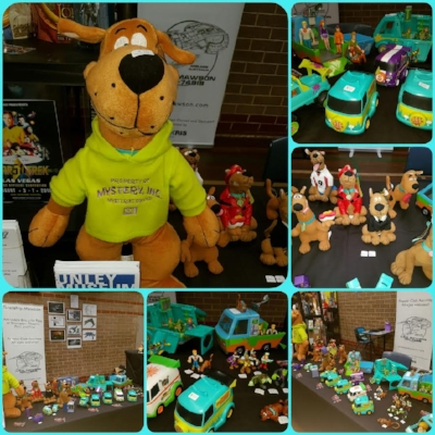 Scooby Doo was a theme we created today as part of expo stand at The Adelaide Comic Convention!