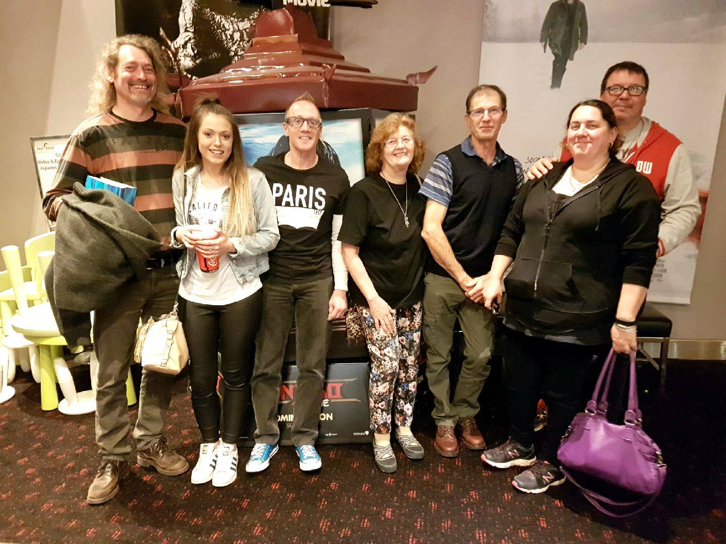 October 11 : Starship Mawson's Movie Buffs meetup to see the cool new frat house comedy horror - Happy Death Day and what a great night out it was!