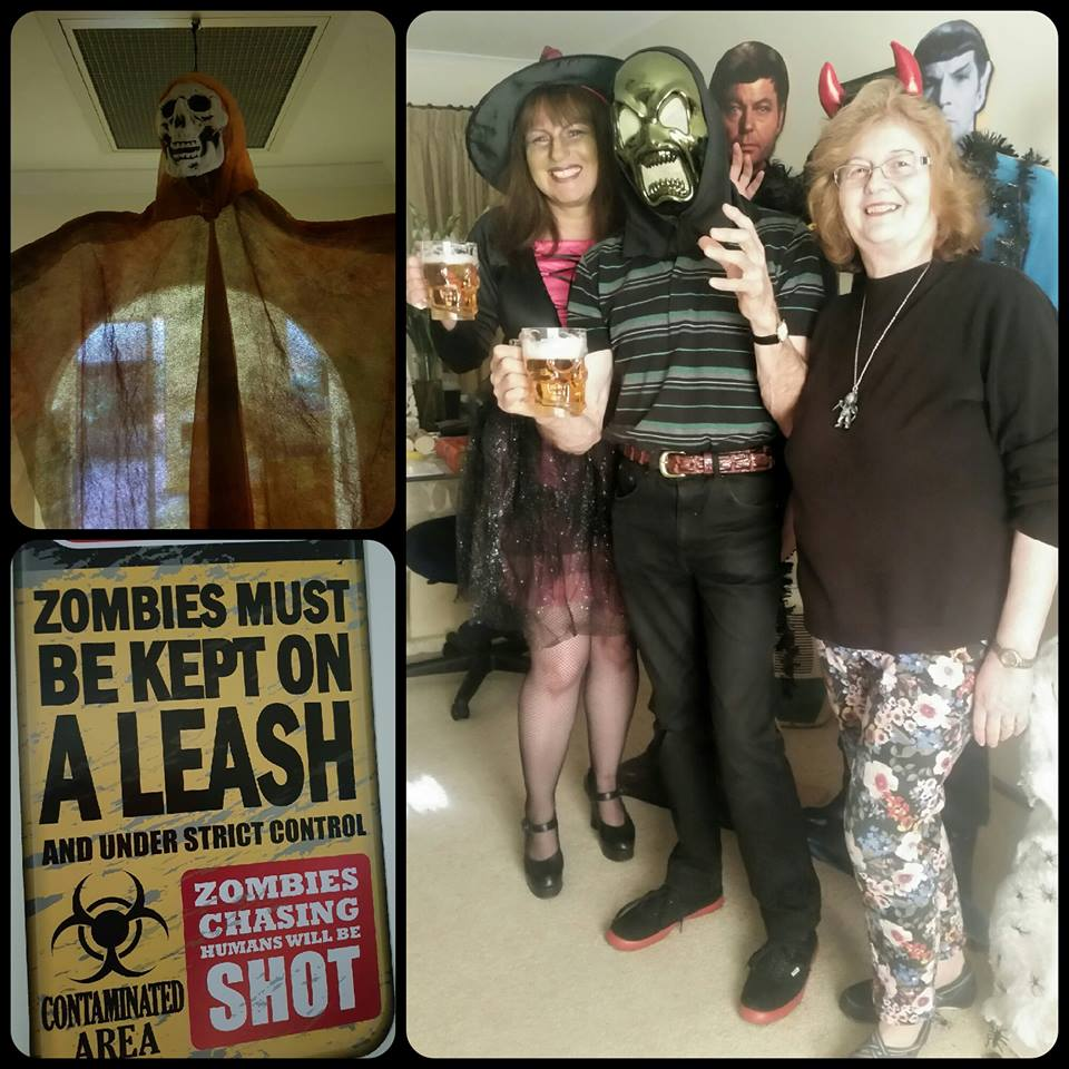 October 28 - Our annual Halloween Movie Meetup was a hoot with much fun and a fantastic selection of spooky presentations to entertain our audience!