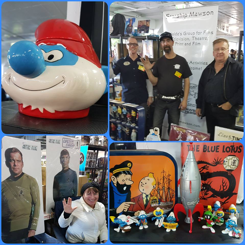June 2 and 3 - Mega Toy and Collectable Fair at the Adelaide Showgrounds was a fantastic and most successful event for us with much promotion and sales of Starship Mawson subscriptions and product. Thanks to all Mawson Crew for their time during the weekend long event!