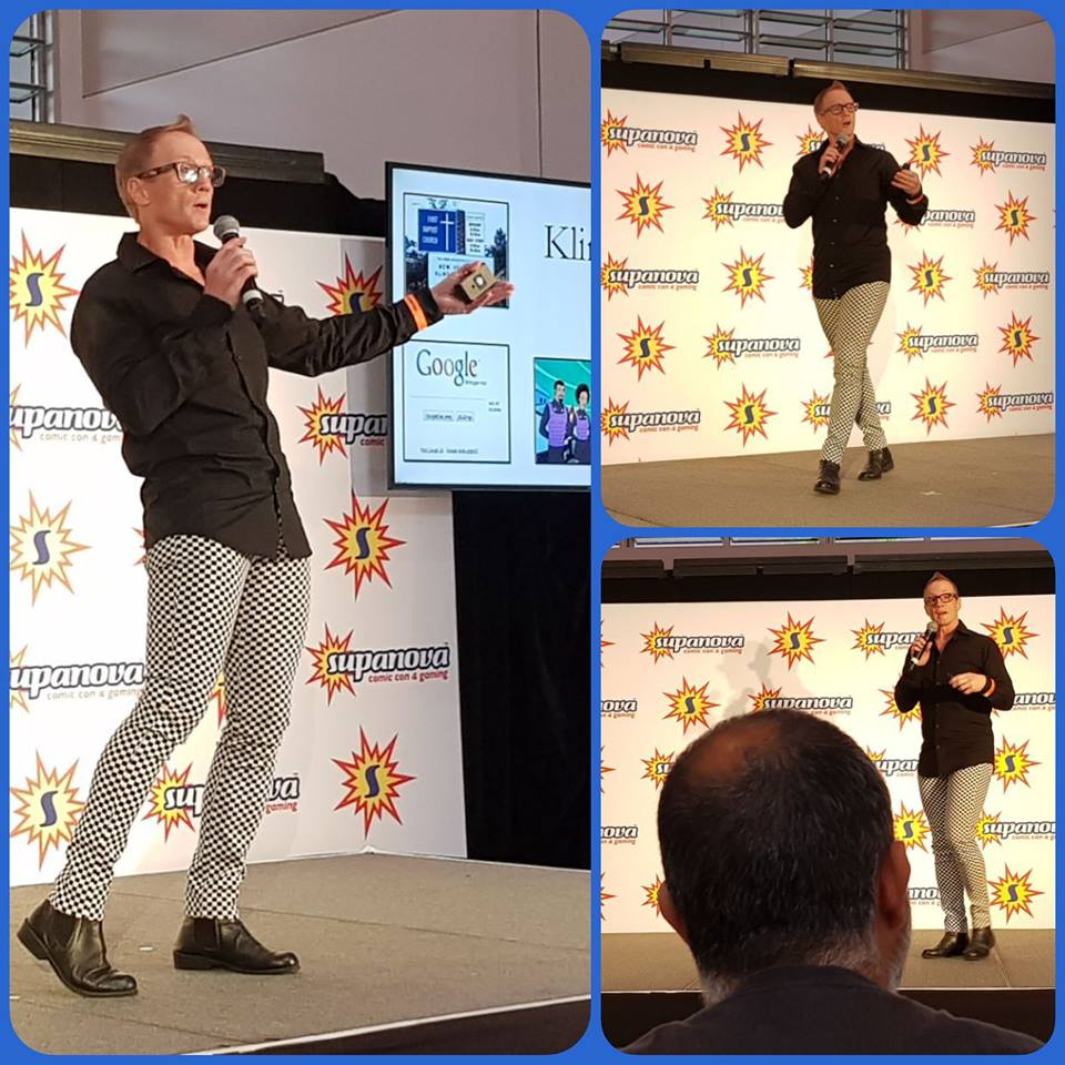 November 3, 2018, Starship Mawson Event Director, Stuart A Blair received a booking as a keynote speaker at Supanova Comic Con and Gaming, and he presented a linguistic workshop on languages that have been constructed for the entertainment industry.