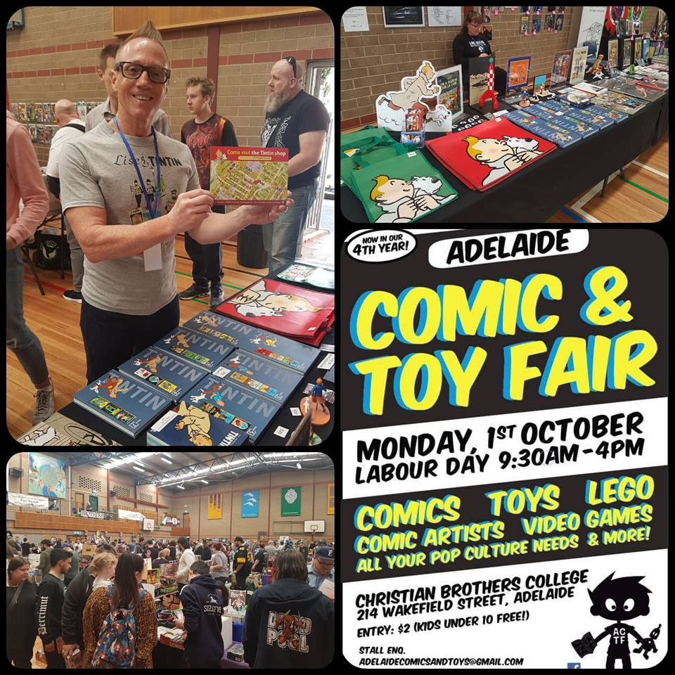 October 1 2018, at the Christian Brothers College was the annual comic con and toy fair, and we had a most successful event in marketing our organisation to the visiting public.