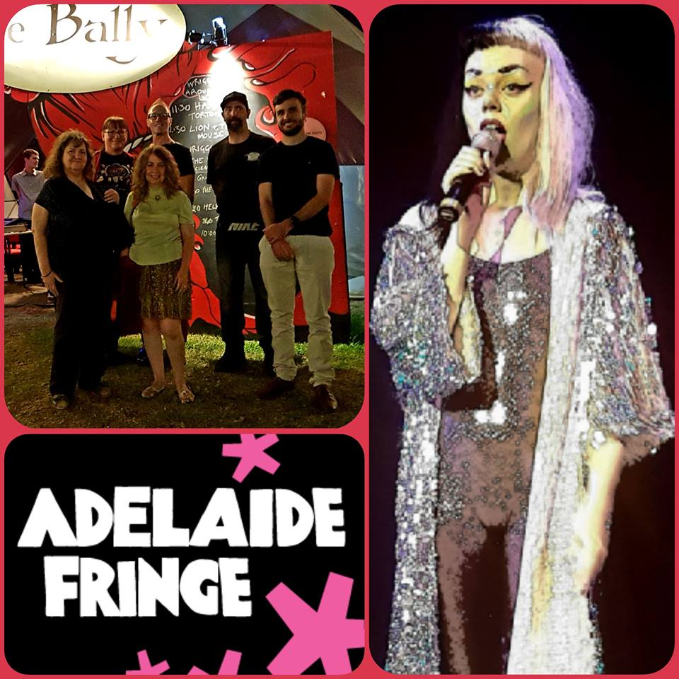 March 16 - Adelaide Fringe meetup to see Laurie Black Space Cadette was an absolute hoot!  Starship Mawson crew enjoyed 6 meetups during this year's Adelaide Fringe…. Fun!