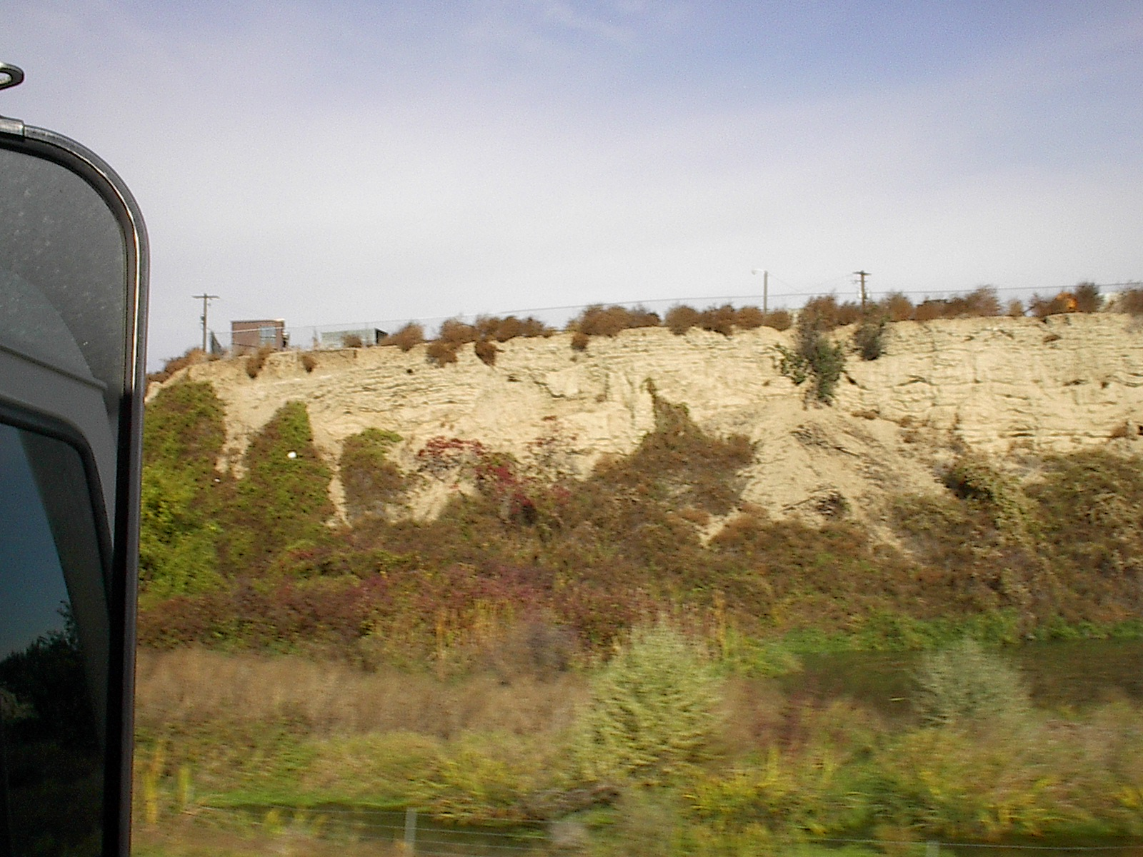 Layers from the floods along Highway 82 in the Yakima Valley
