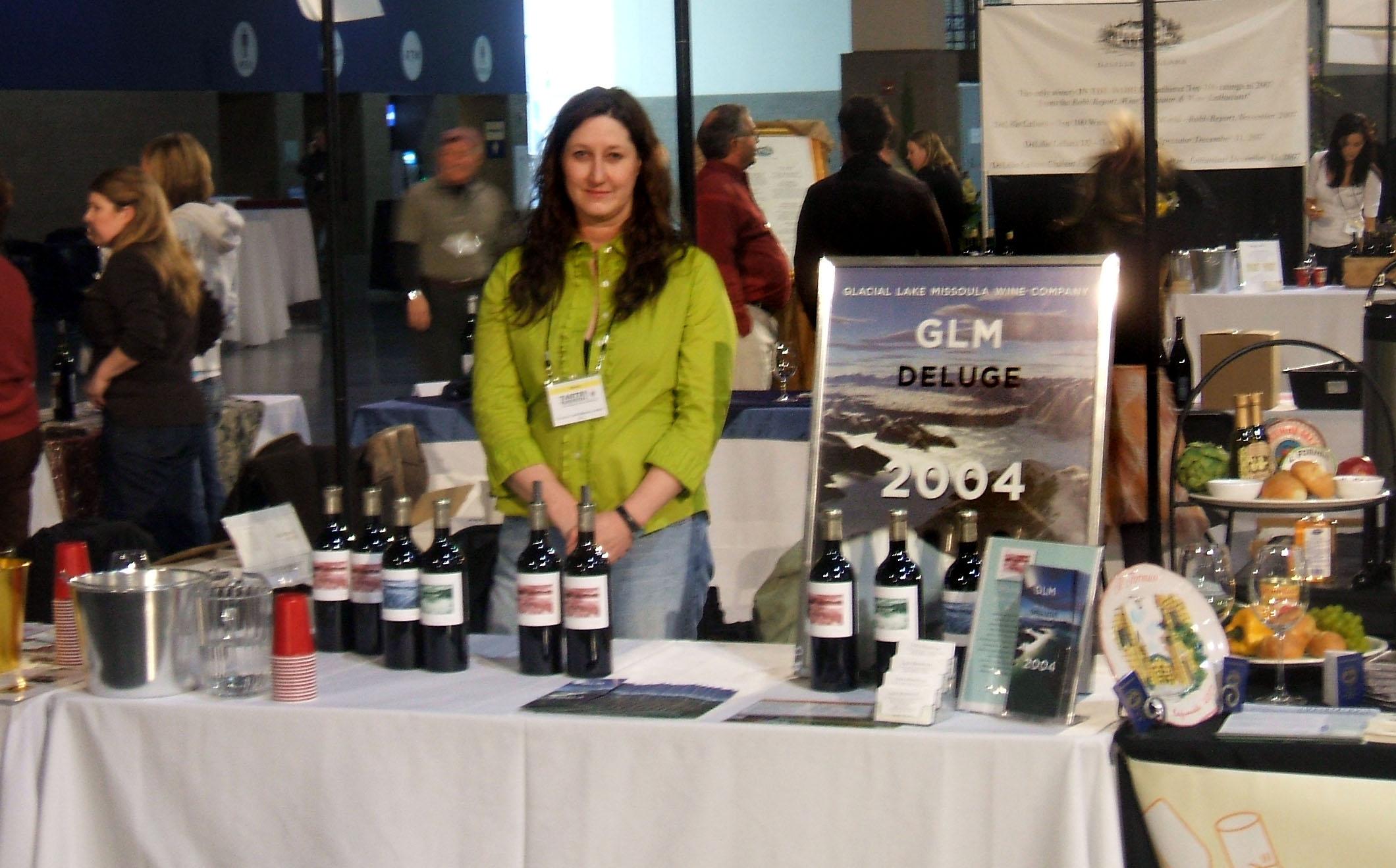 Tracey at Taste Washington 2008
