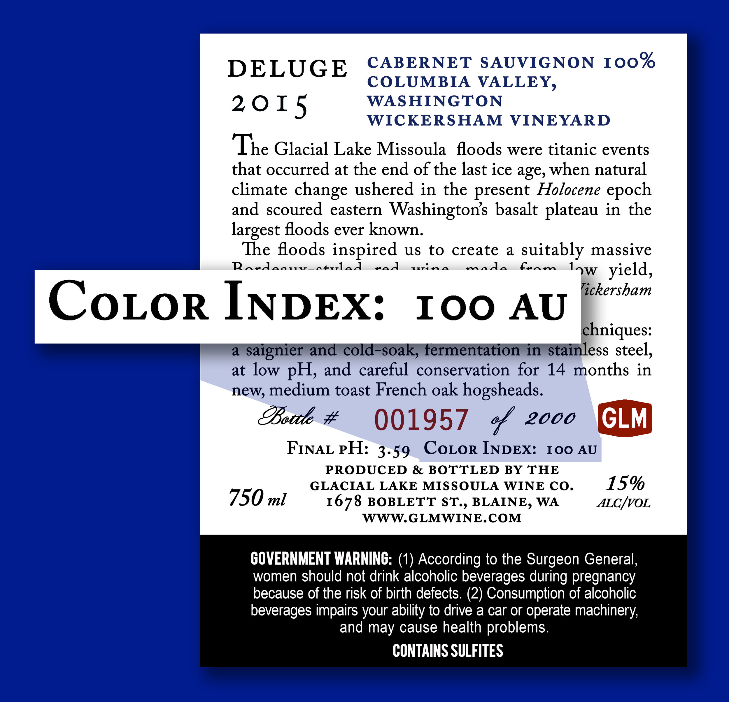 Color Index — GLM Wine Company
