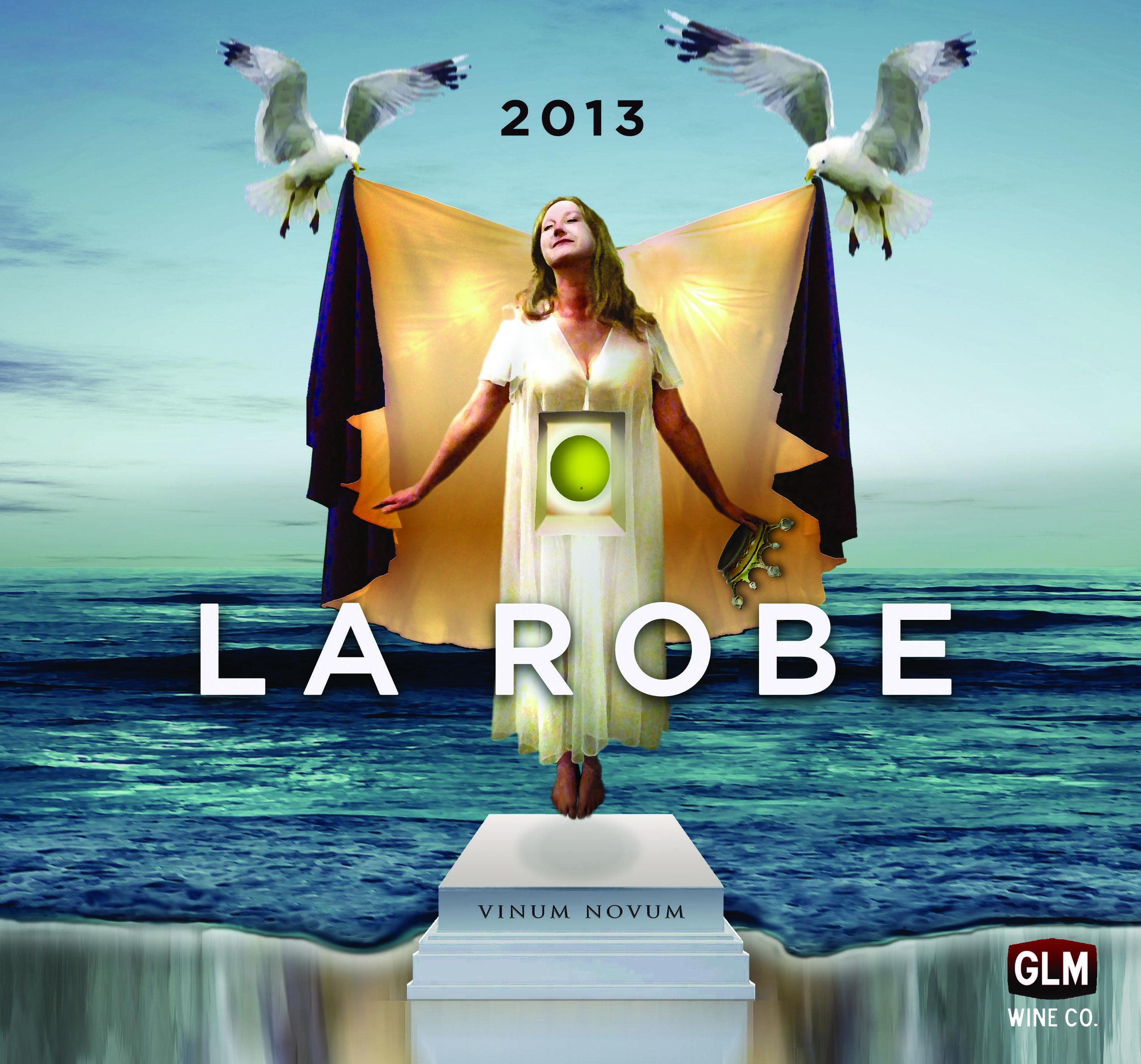 2013 La Robe Chardonnay enrobed with Cabernet Franc