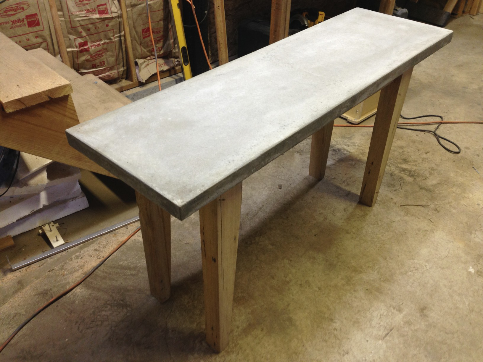 Unfinished Wine Table
