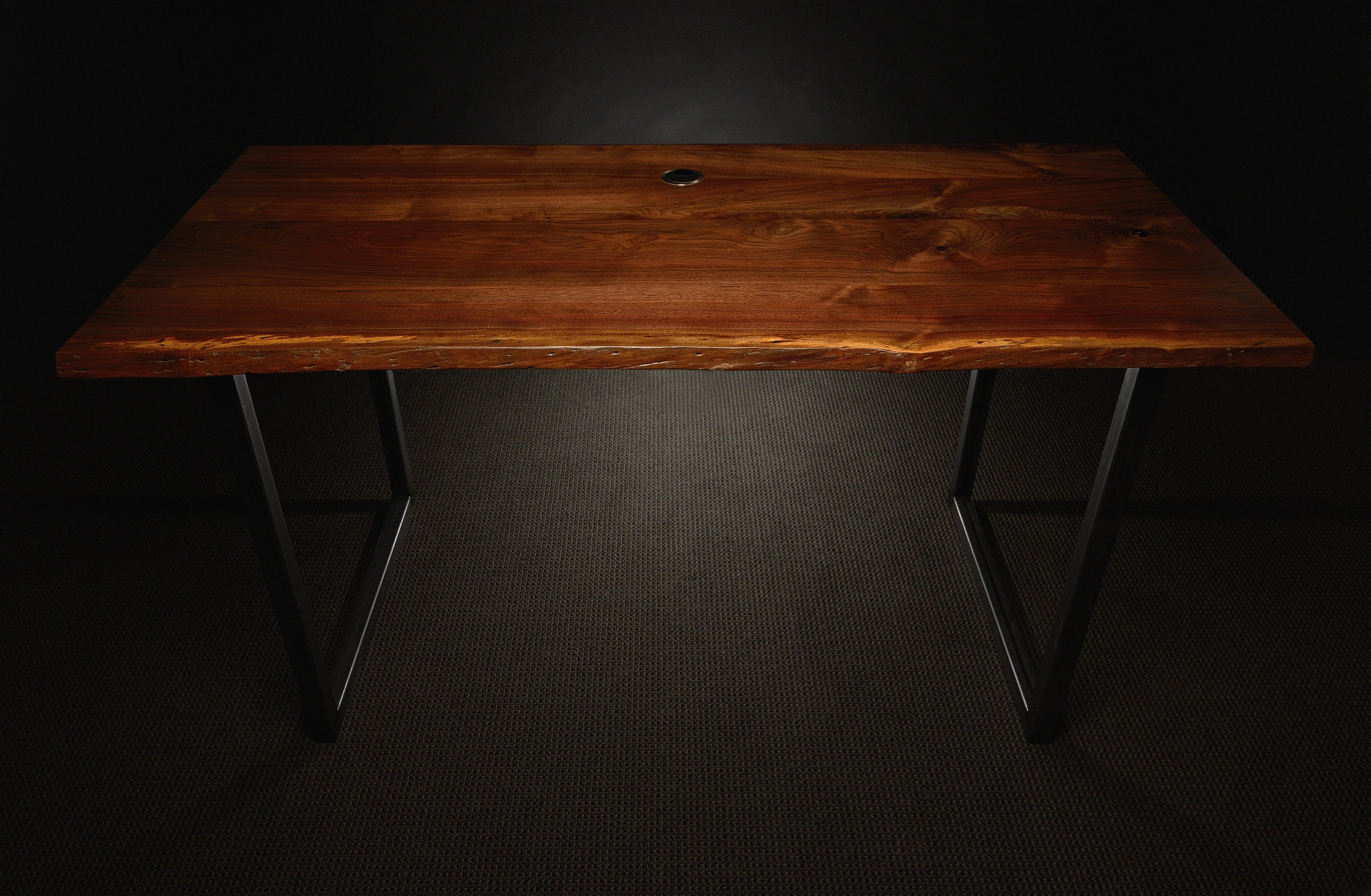 Live Edged Walnut Desk