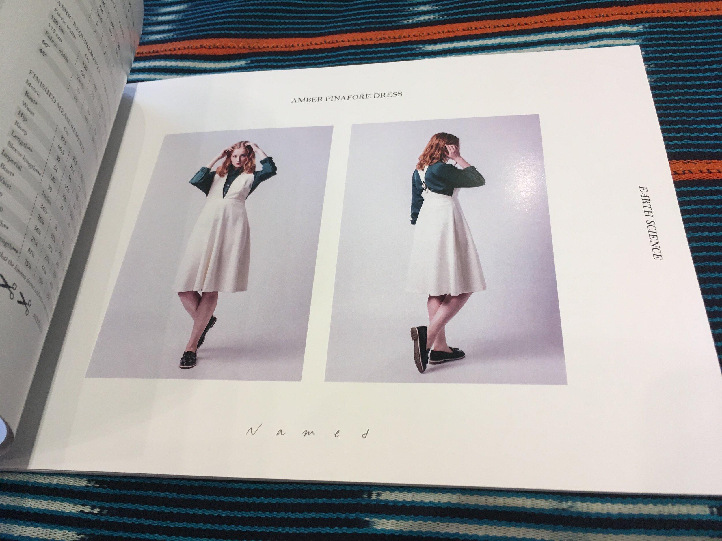 Amber Pinafore Dress