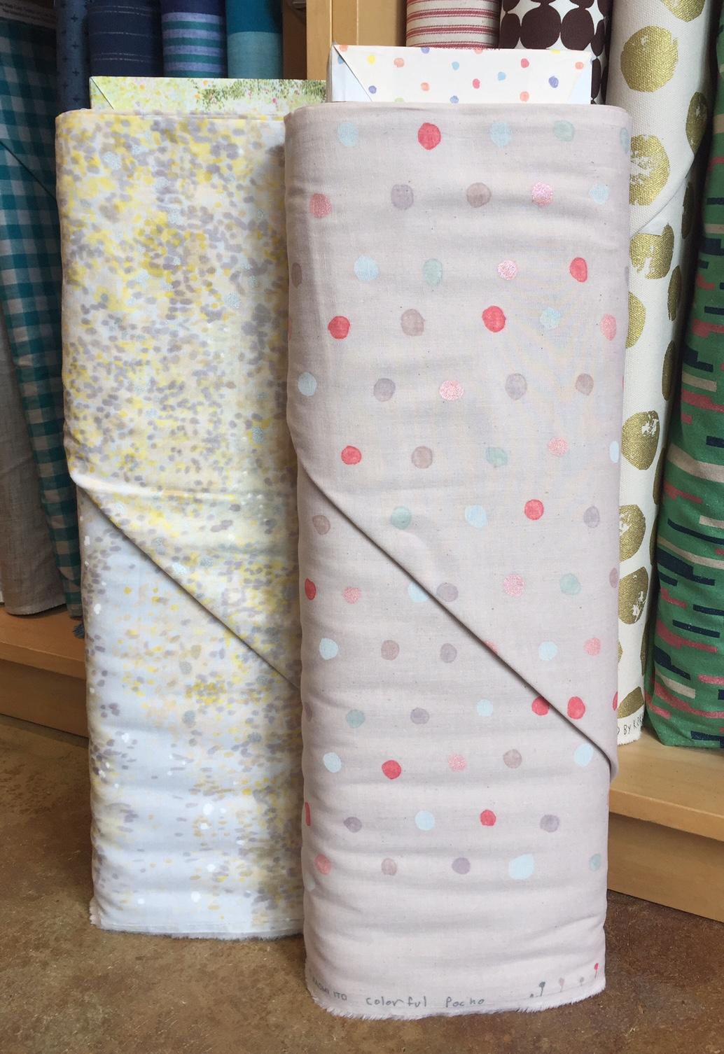 Soft hued Nani Iro double gauze.