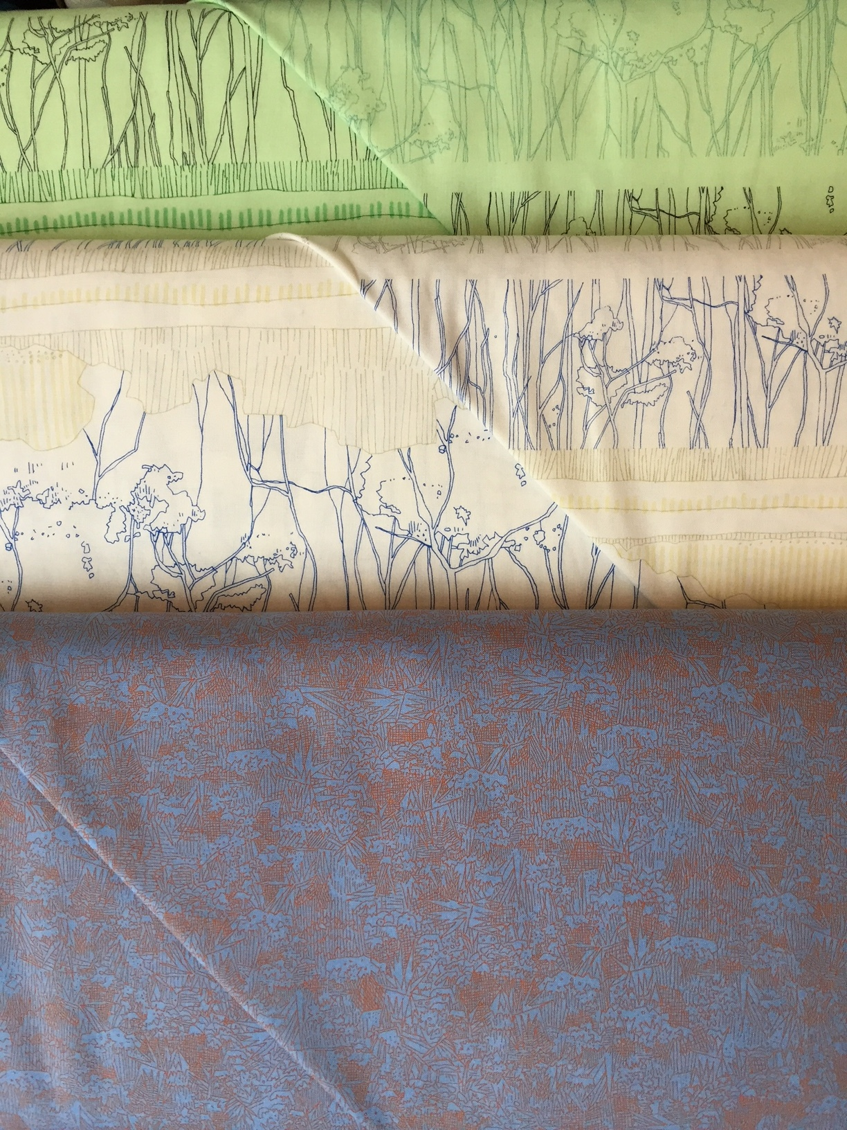 Carolyn Friedlander's latest group of architecturally and landscape inspired quilting weight cottons. So interesting!