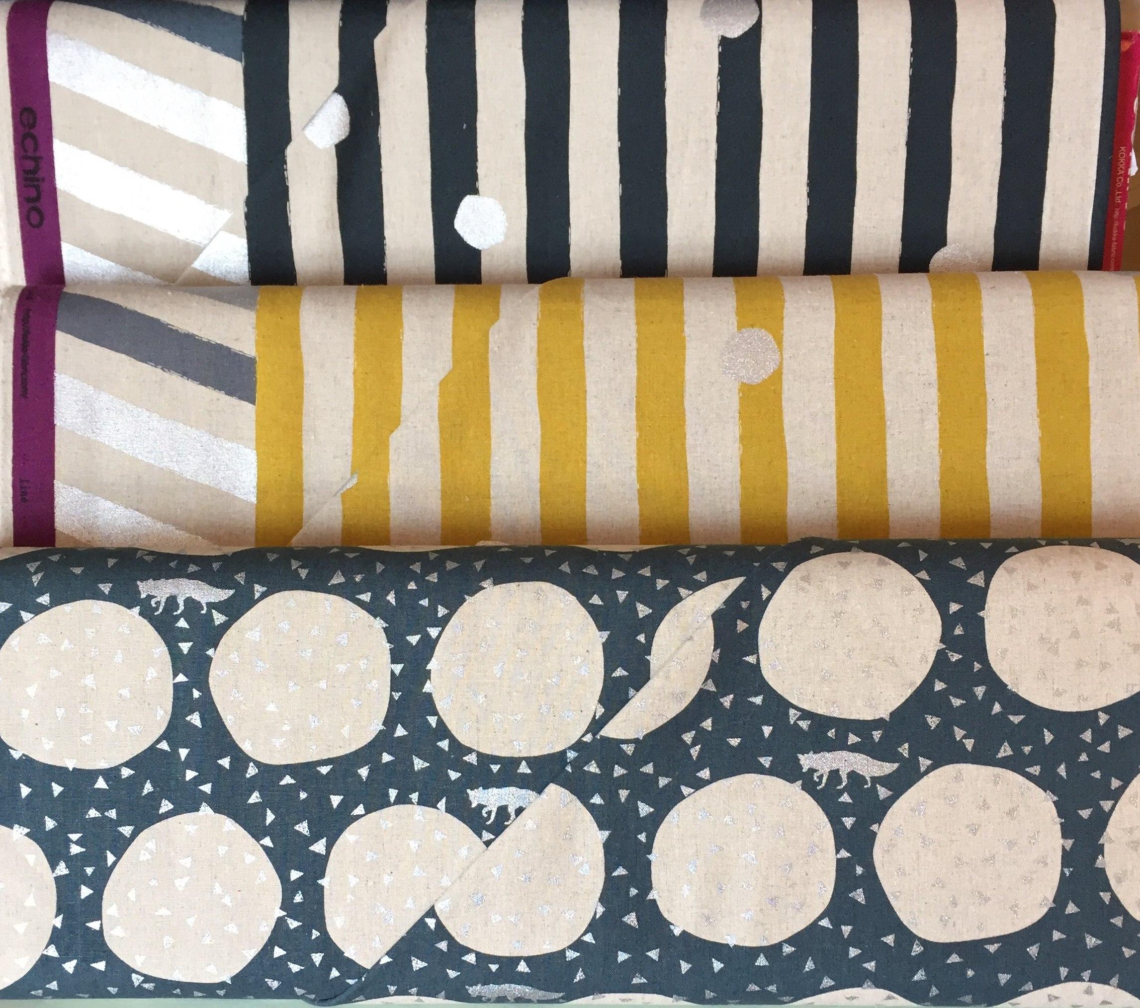Cotton linen blend from Echino