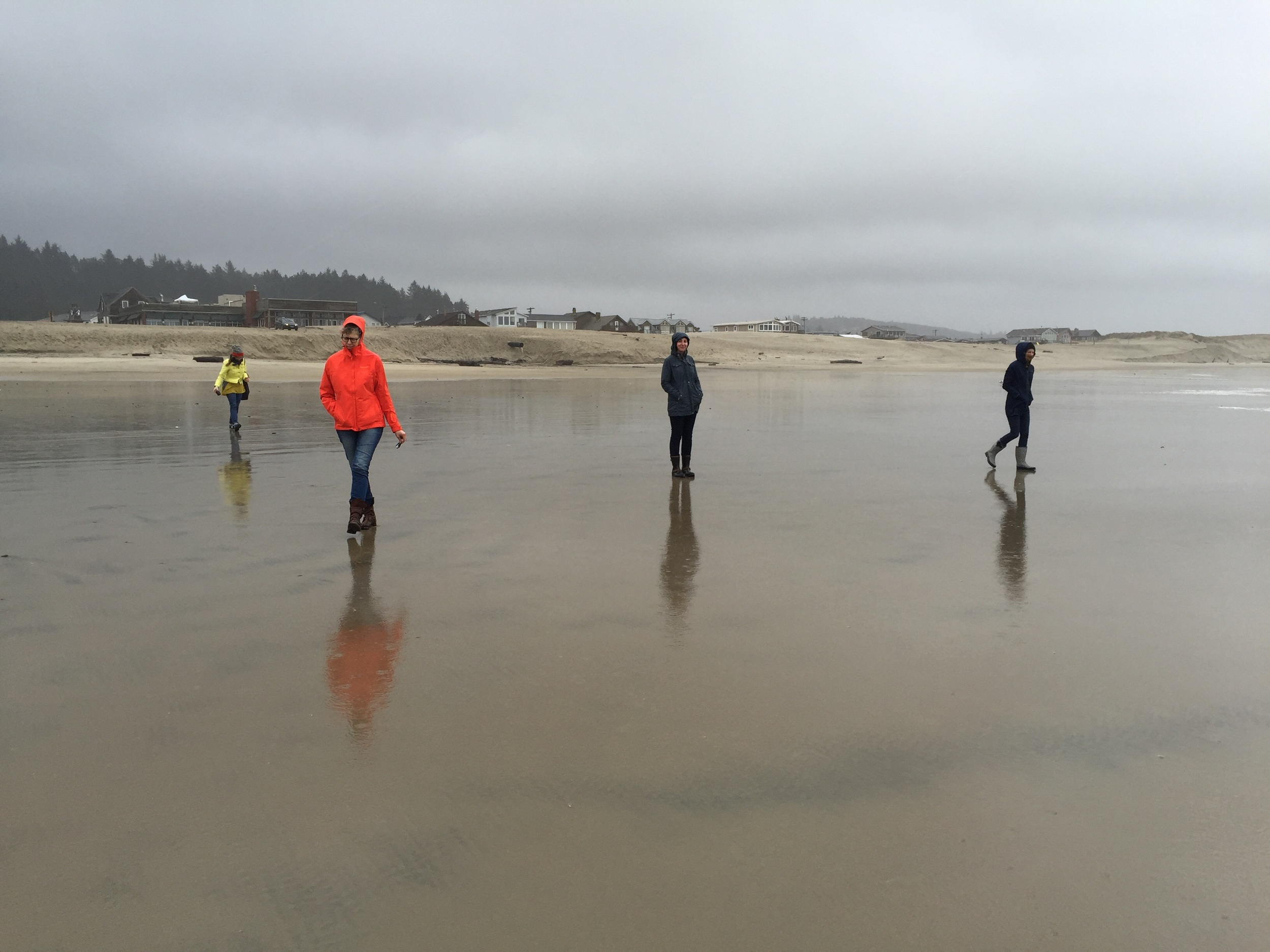 Beach band photo.