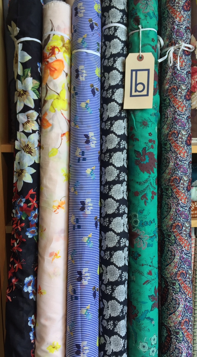 A wide array of prints in this group of fine quality, light weight cottons.