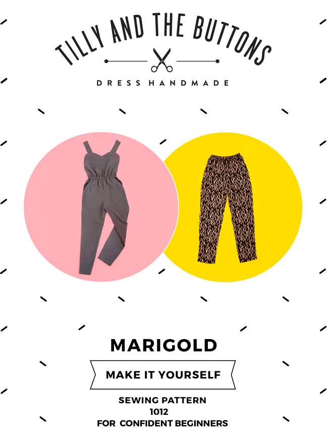 Marigold Jumpsuit and Pants