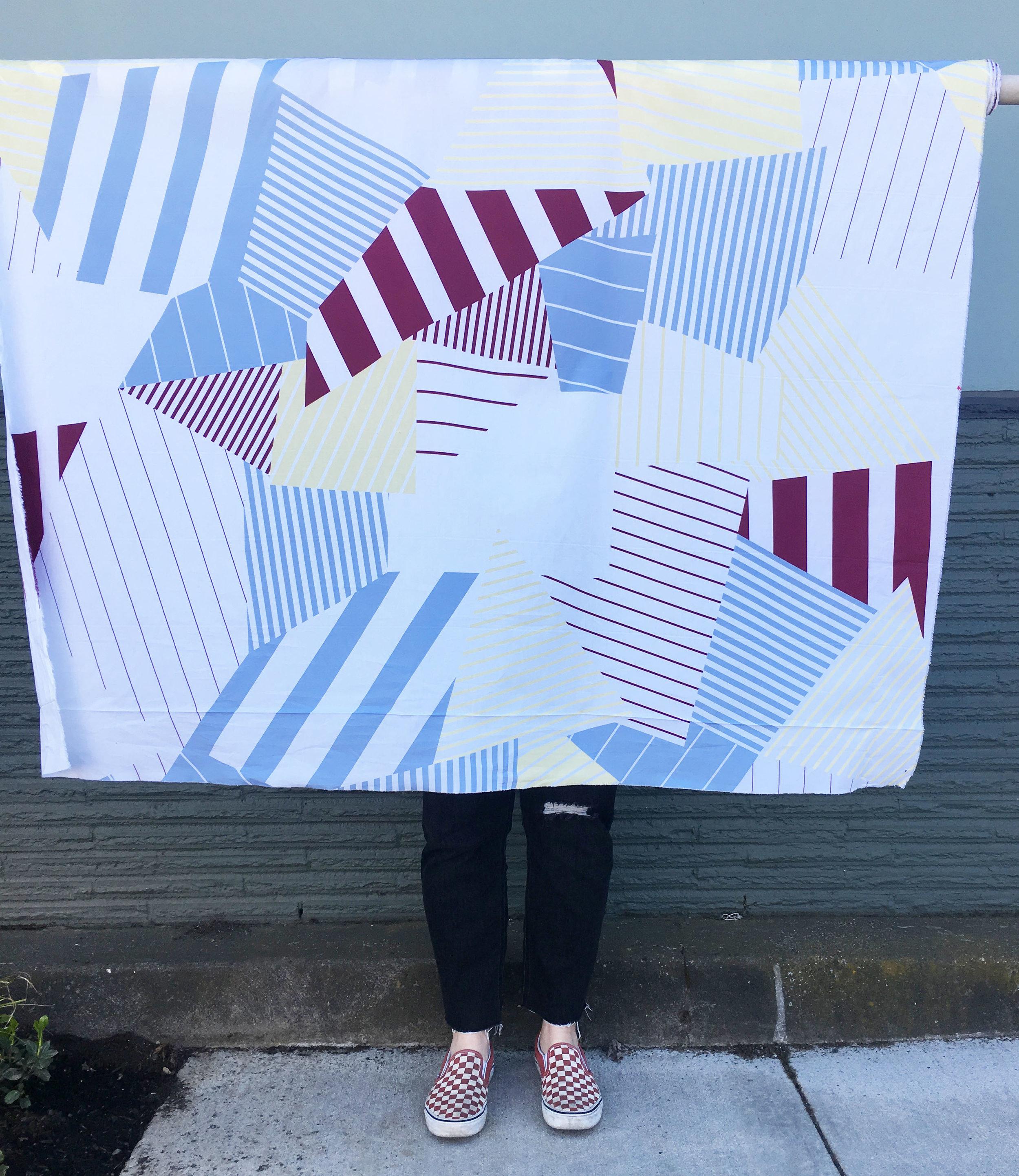 Large Scale Print Cotton