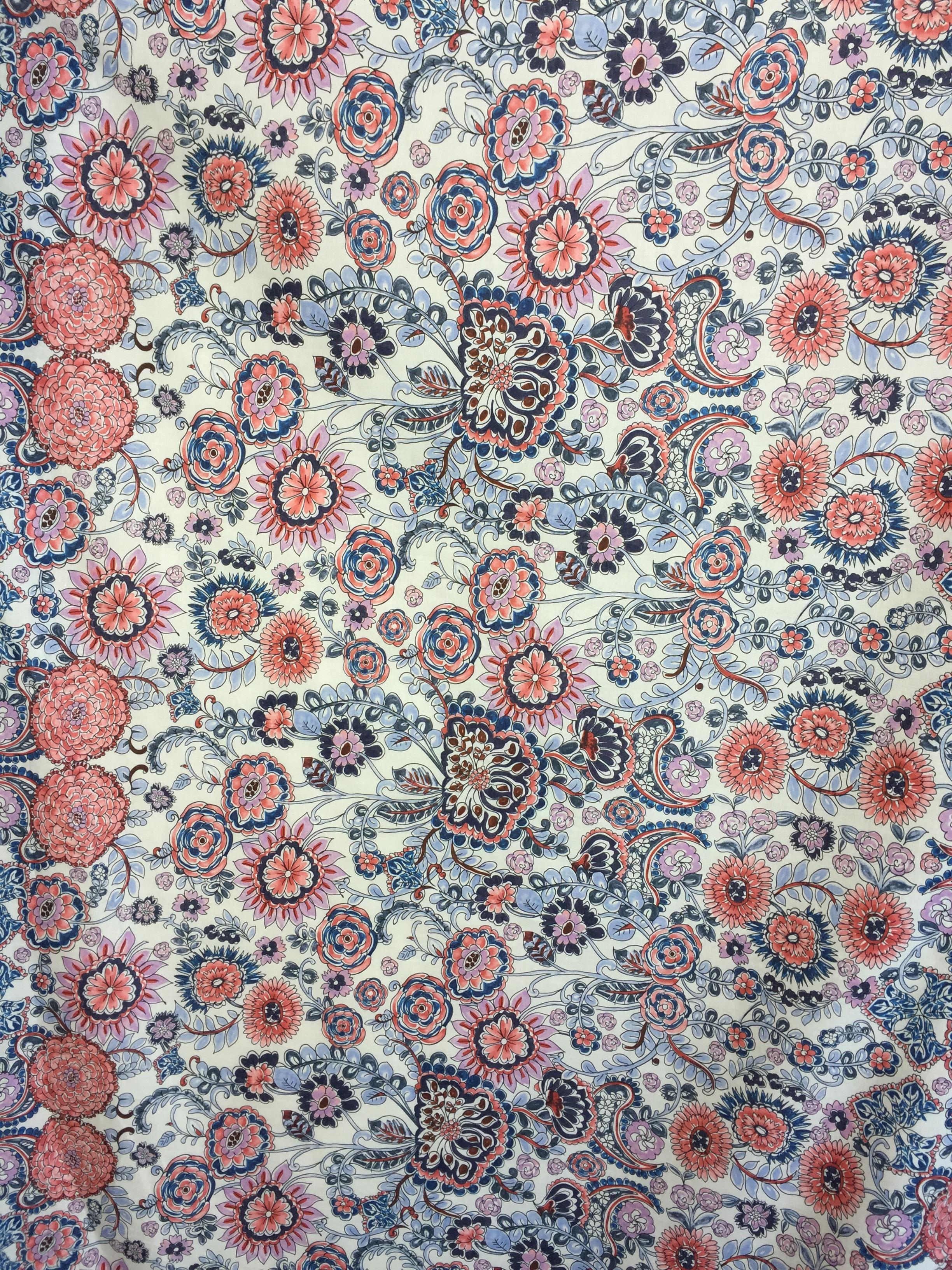 Regal Floral Cotton Lawn