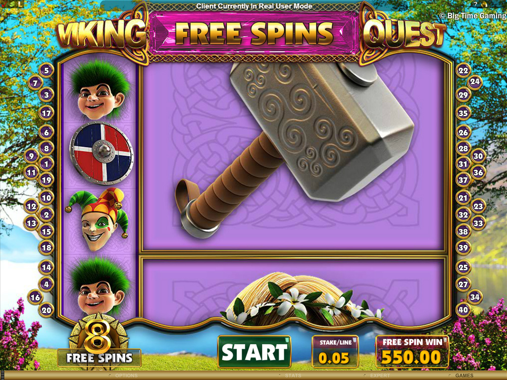 Incredible Re-riggerable Free Spins
