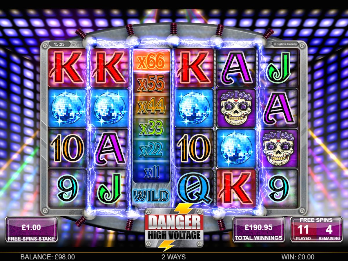 Danger High Voltage Casino