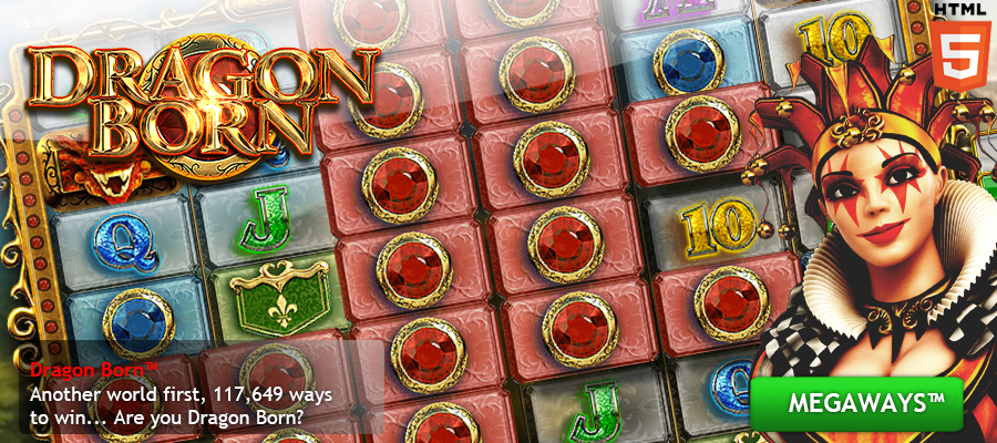 Dragon Born, BTG's first Megaways™ game launched at the end of 2015