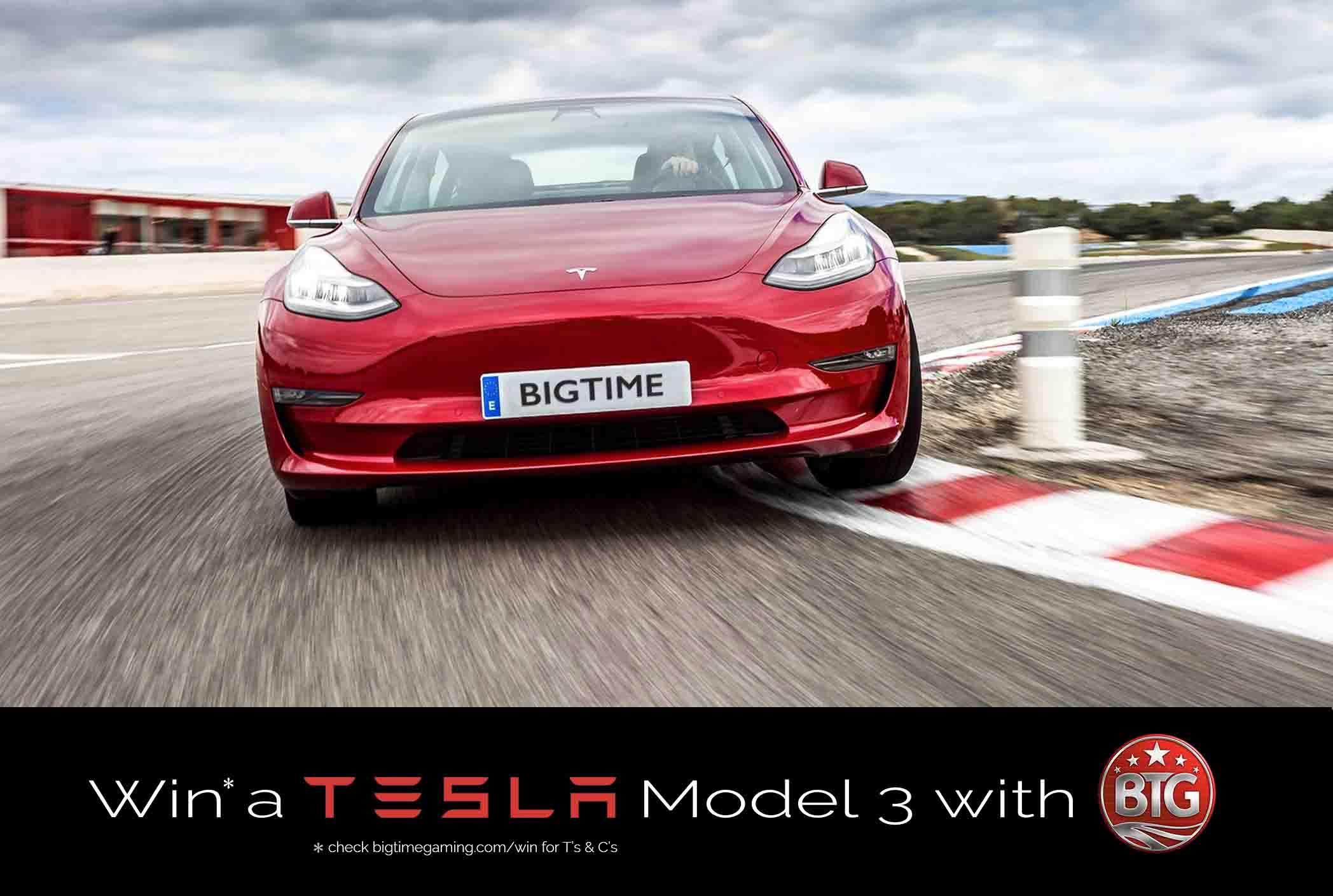 Tesla Leading Innovation Big Time Gaming