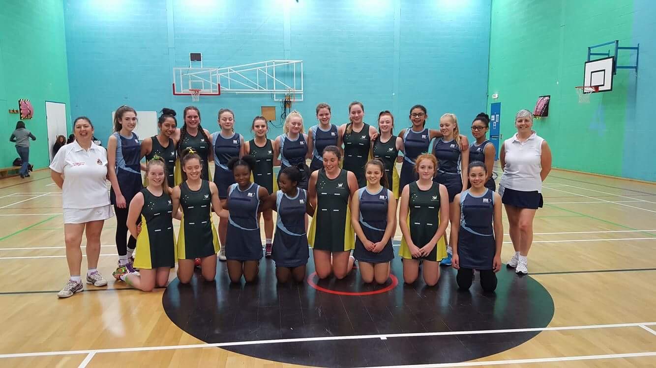 16&U girls with Milton Keynes NC
