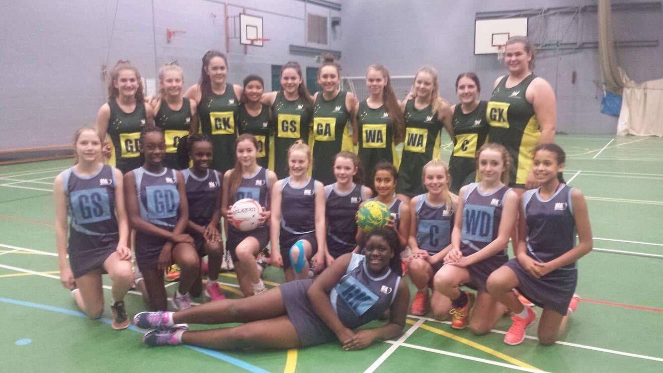 14&U girls with Milton Keynes