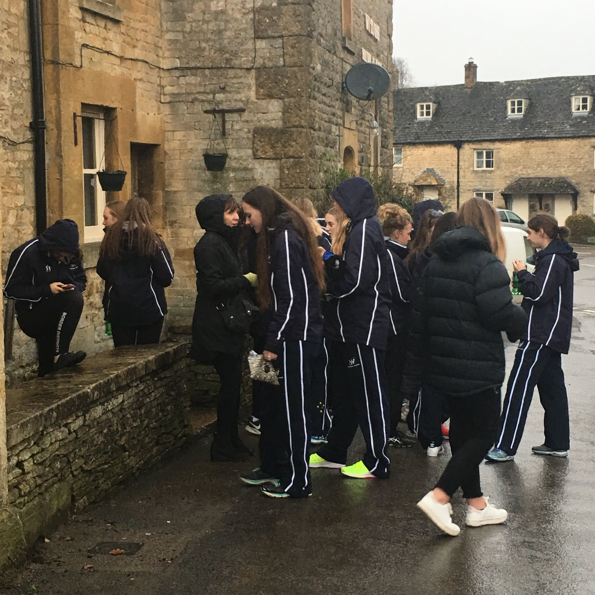 Guiting Power - outside the Bakery