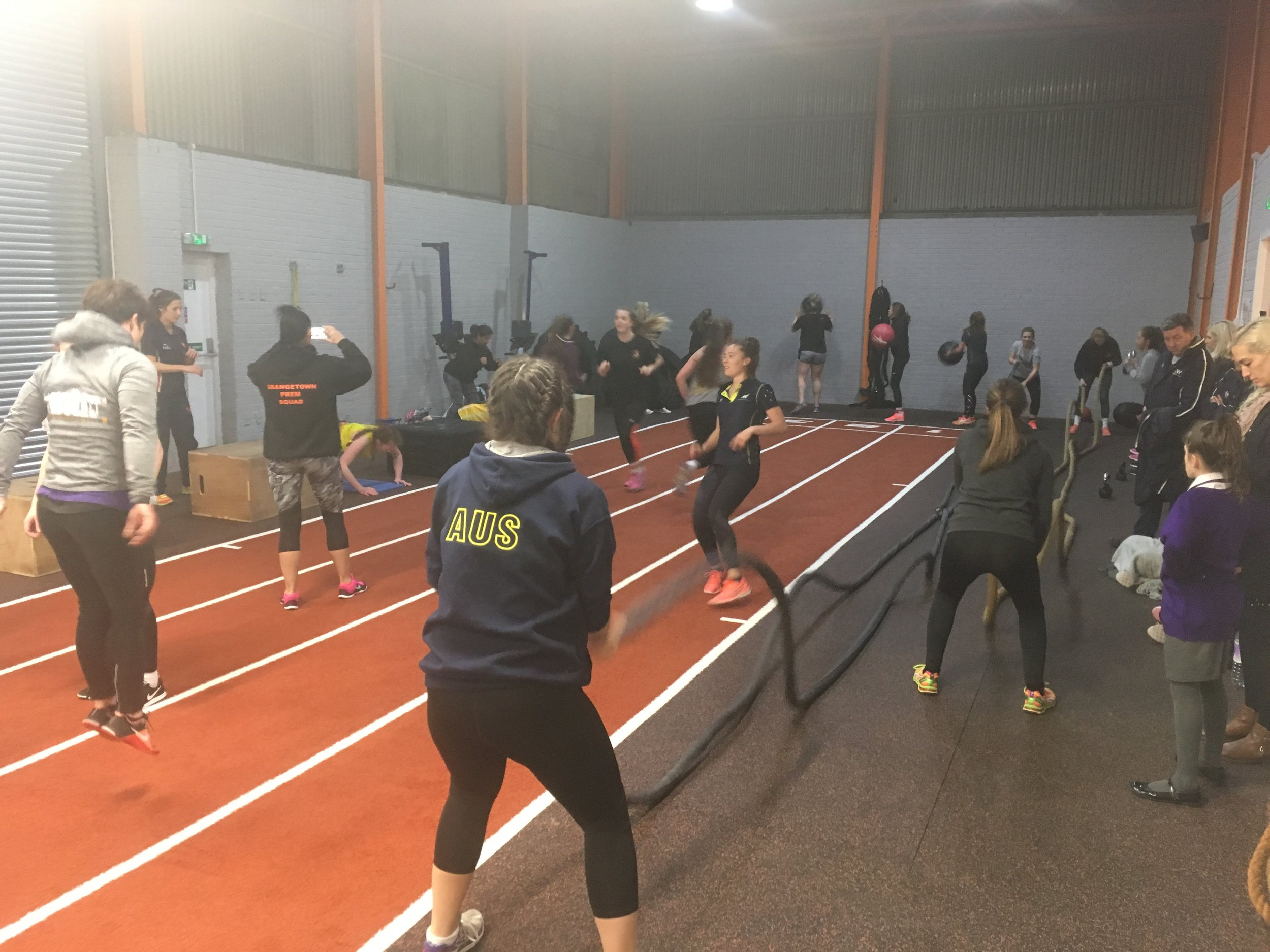 Strength & Conditioning session