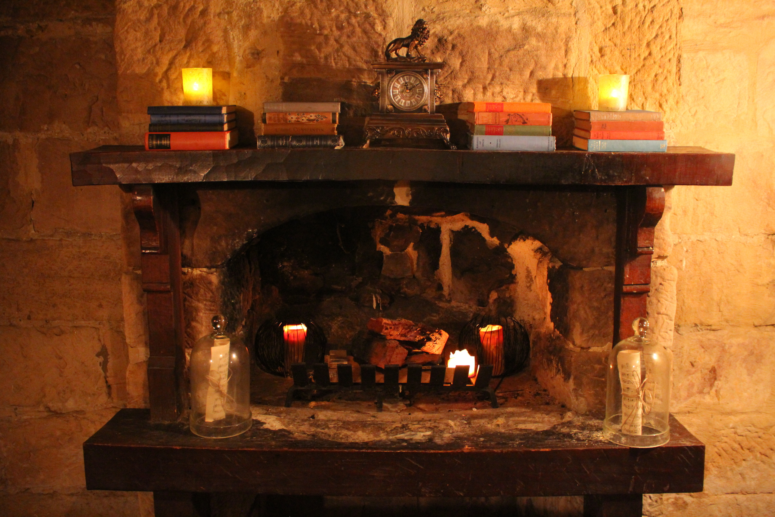 Open fireplace anyone?