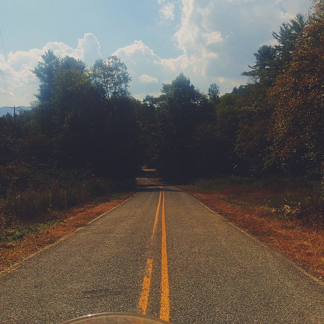 Sometimes, the road is simply perfect for thinking #vscocam #thoughts #travel #motorbike #adventure #overland #usa #roadtrip